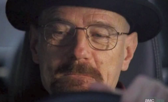 Walter White In Breaking Bad Mentos Commercial