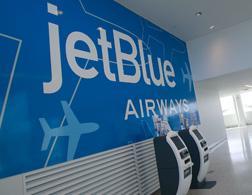 JetBlue terminal at JFK airport. Click image to expand.