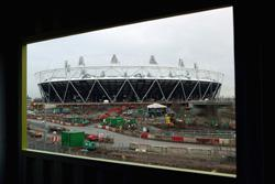 The Olympic Stadium at Stratford. CLick iamge to expand.