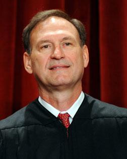 US Supreme Court Associate Justice Samuel Alito Jr. Click image to expand.