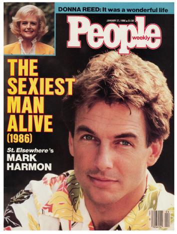 Mark Harmon Sexiest Man Alive