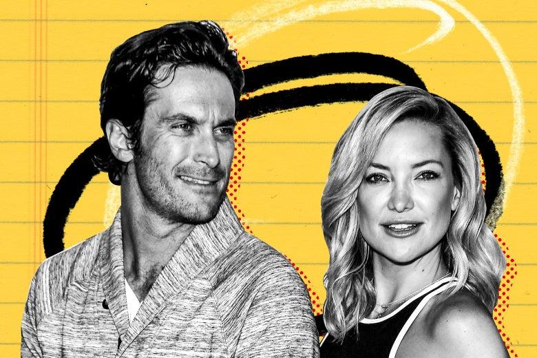 Actors Kate and Oliver Hudson