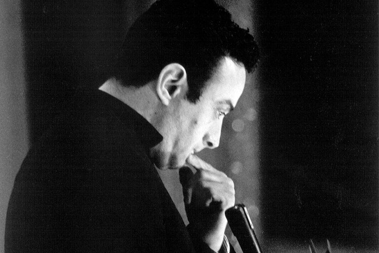 Photo of Lenny Bruce, circa 1960.