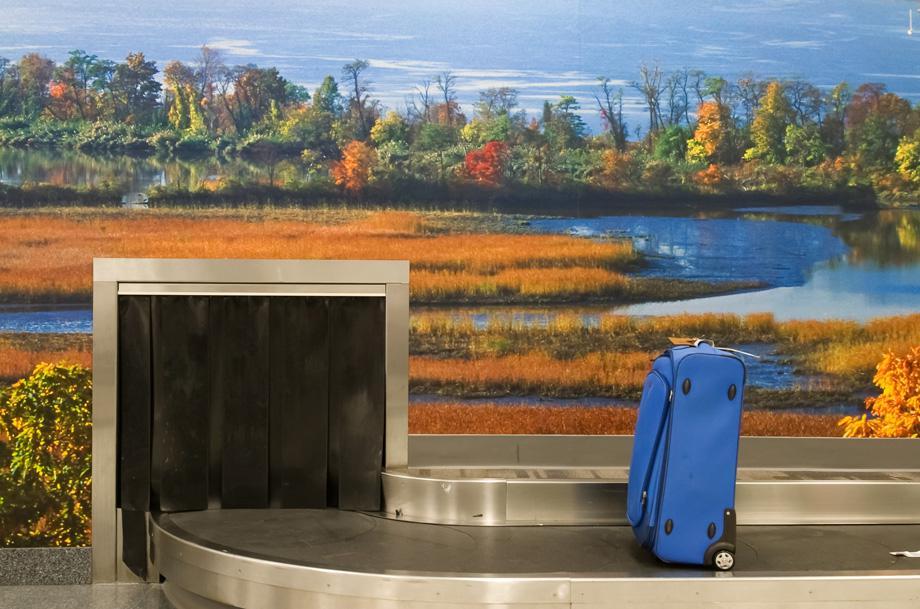 Stewart Airport, Baggage Claim A, 2008
