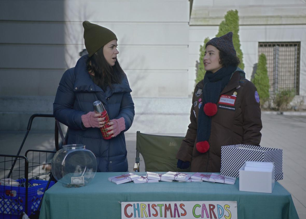 "Broad City's ""Witches"" faces the future"