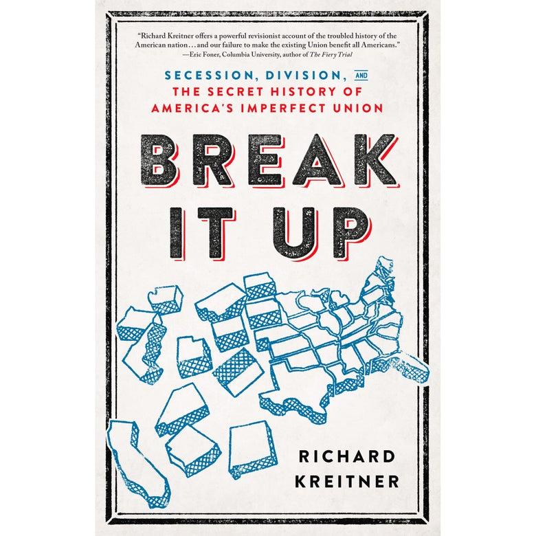 Break It Up book cover.