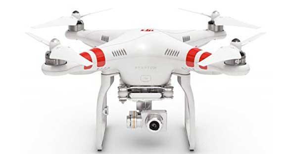 DJI Phantom 2 Vision+ Quadcopter with FPV HD Video Camera and 3-Axis Gimbal