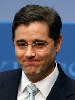 Federal Communications Commission (FCC) Chairman Julius Genachowski.