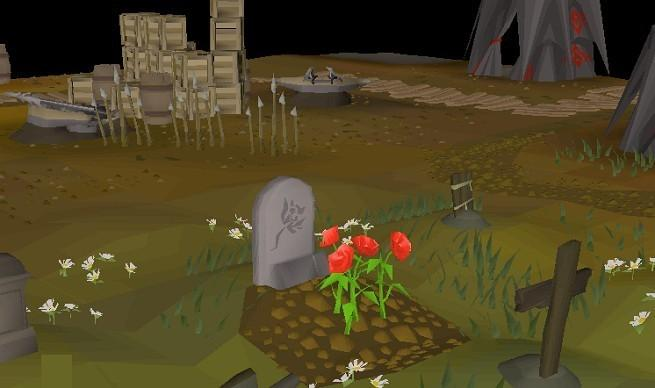 A screenshot of Runescape.