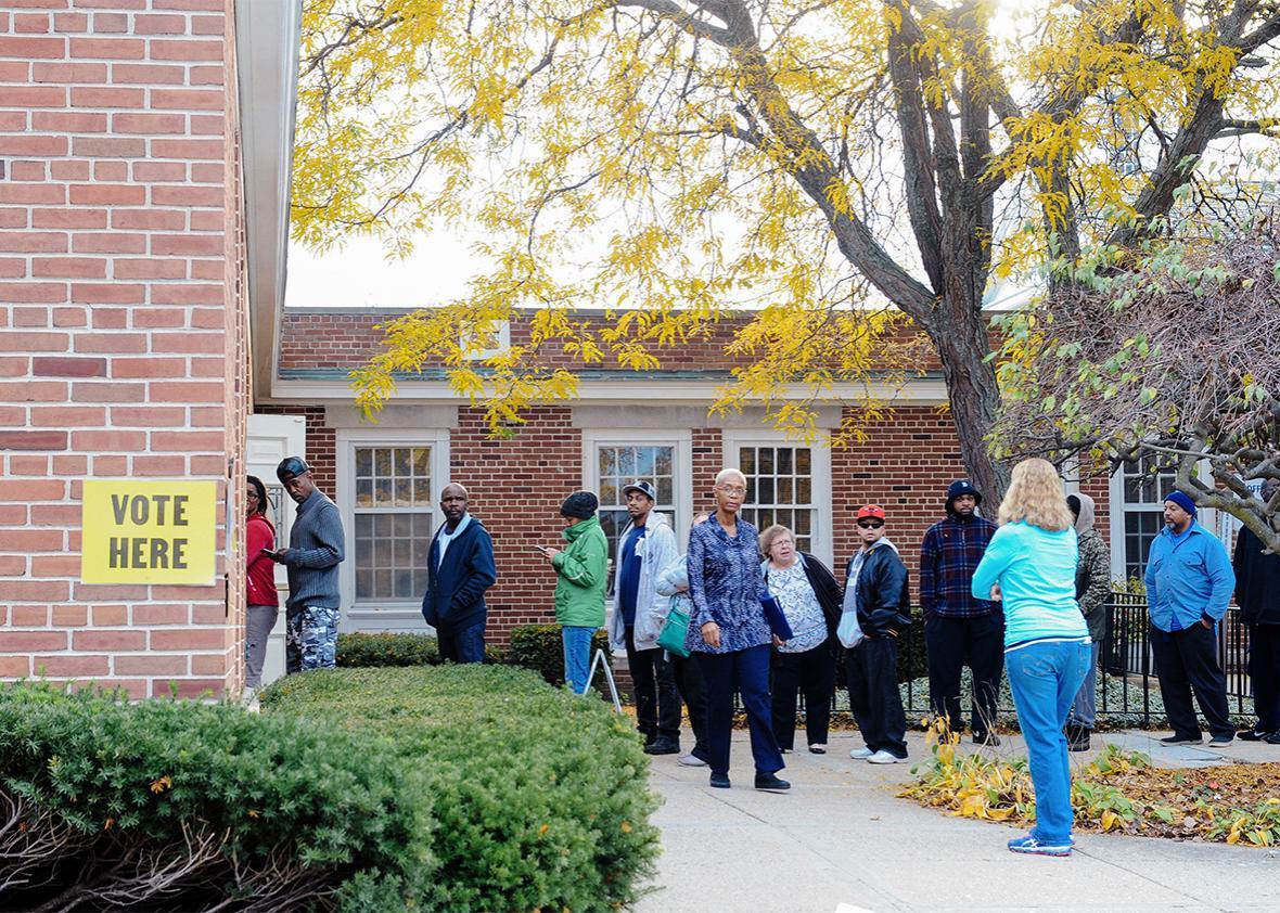 Flint Michigan voting