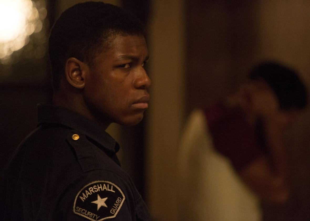 John Boyega in Kathryn Bigelow's new movie Detroit.