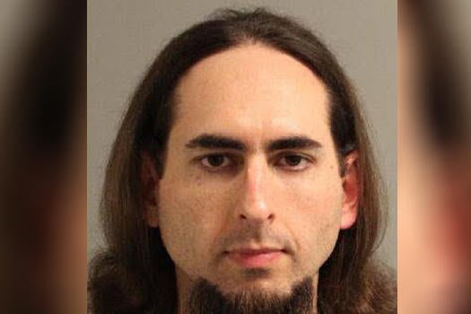 Police handout of suspected Annapolis shooter, 38-year-old Jarrod Ramos.