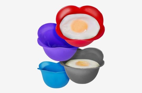 Kitzini Silicone Egg Poaching Cups.