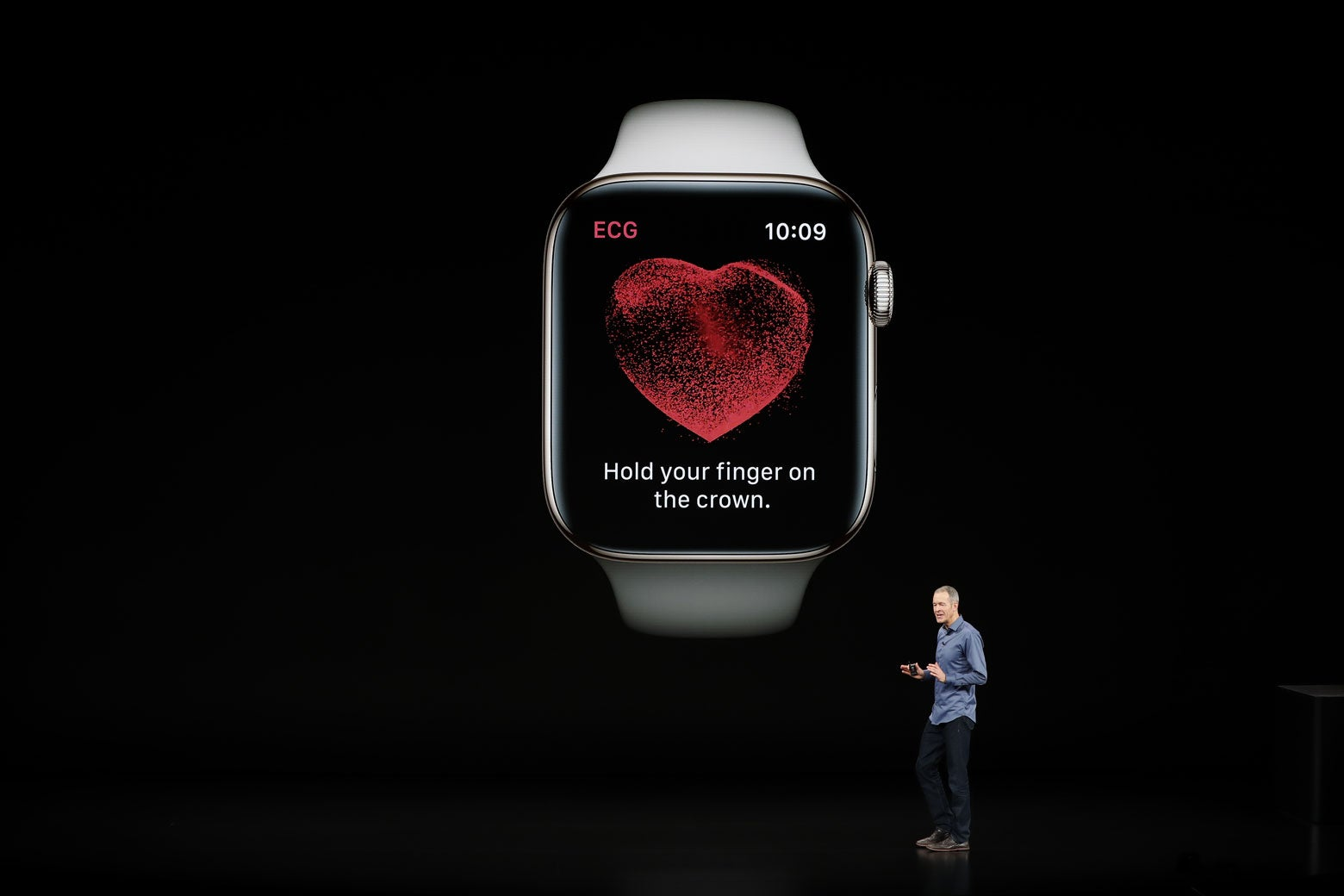 Apple Watch Series 4 announcement.