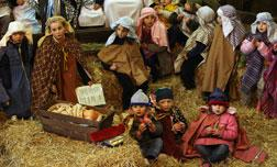 Traditional Nativity. Click image to enlarge.