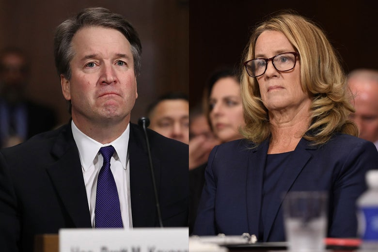 Brett Kavanaugh, Christine Blasey Ford.