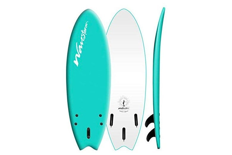 Wavestorm swallowtail surfboard