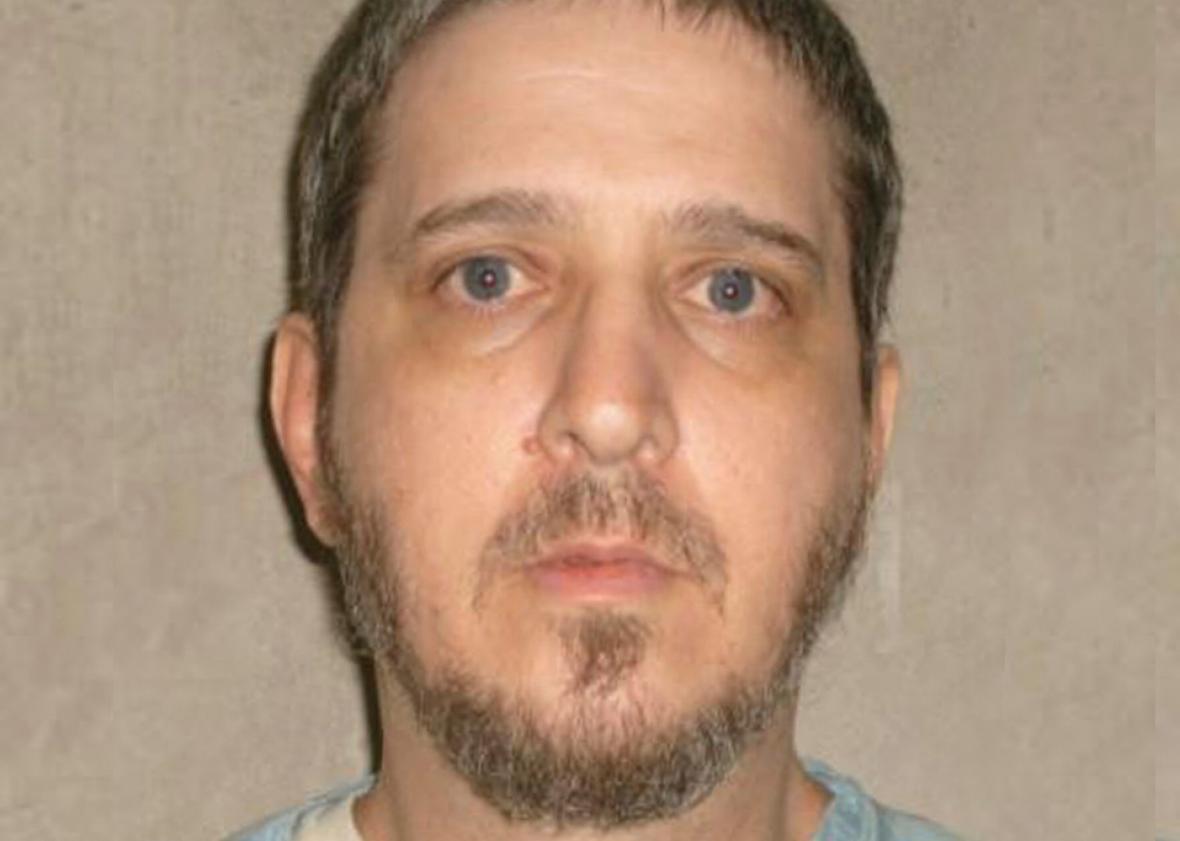 Oklahoma State Penitentiary death row inmate Richard Glossip