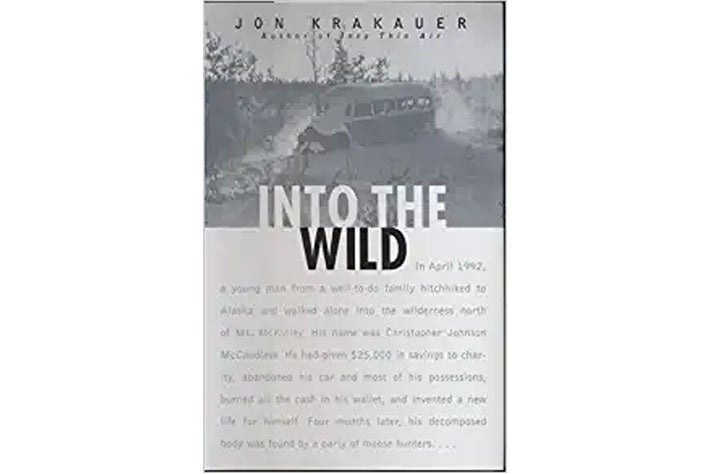 Into the Wild book cover.