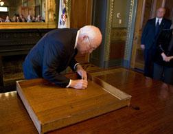 Former Vice President Dick Cheney. Click image to expand.
