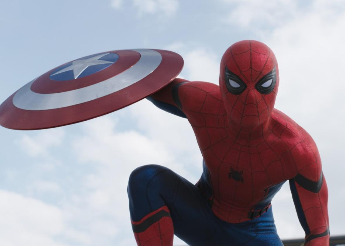Spider-Man's Boyish Giddiness Rescues ​Civil War​. Could It Rescue the Superhero Movie Genre?
