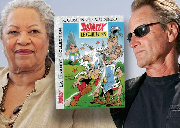 Toni Morrison, Asterix, Sam Shepard