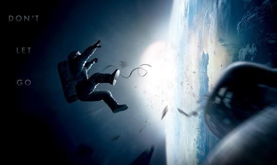 Promo for the movie Gravity.