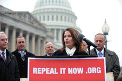 US Representatives Michele Bachmann. Click image to expand.