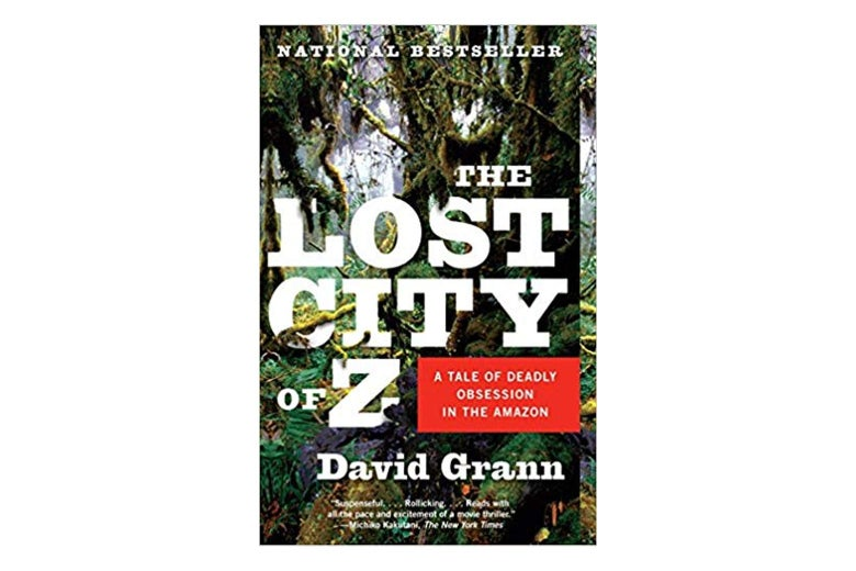 The Lost City of Z book cover.