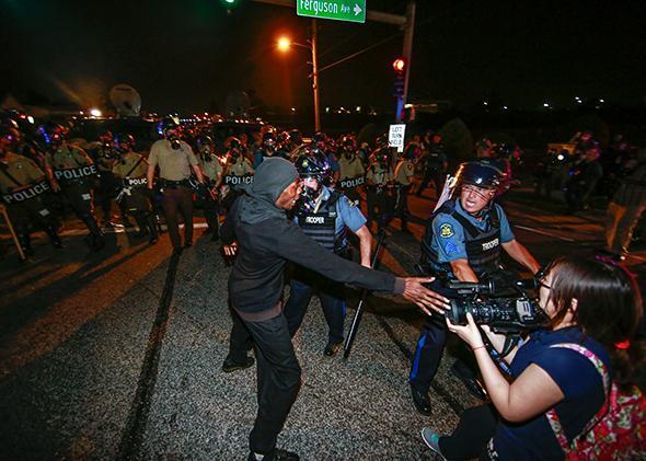 Ferguson, Missouri, on Aug. 18, 2014,