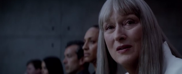 Meryl Streep in The Giver.