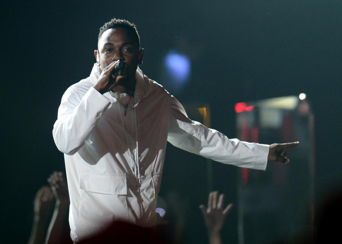 Kendrick Lamar leads all Grammy nominees with 11 nominations.