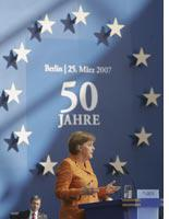 German Chancellor and current President of the European Council Angela Merkel. Click image to expand.