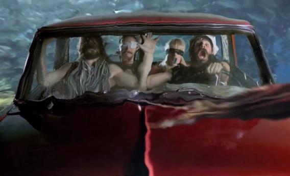 """Still from the music video for """"Fjögur píano"""""""