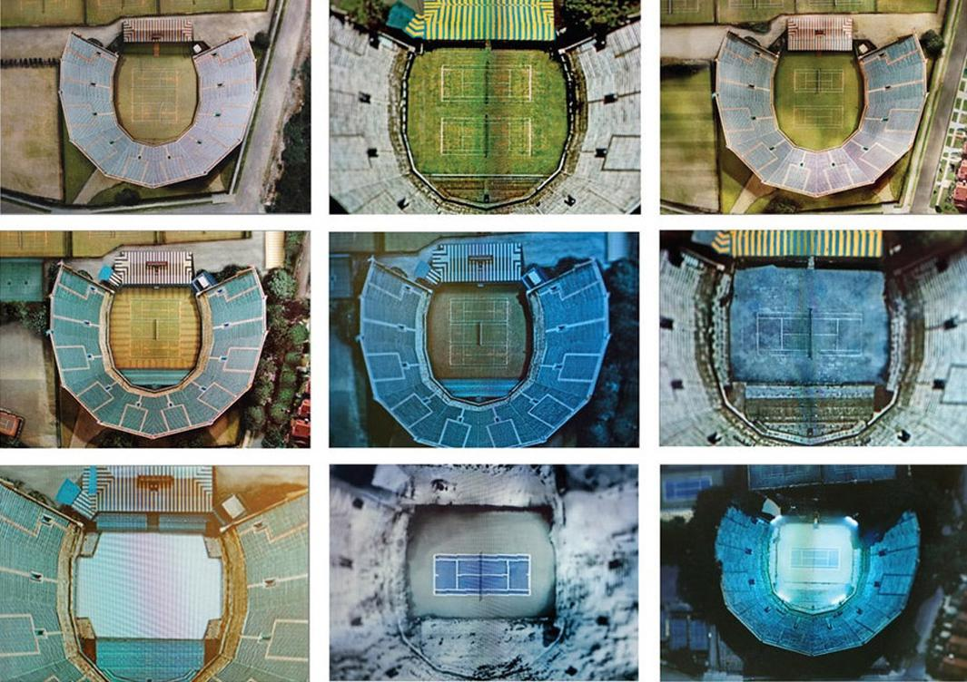Sullivan created 15 new aerial images adding and subtracting from the initial image in the attempt to re-create exactly how the stadium would have likely looked at specific times over the more than 80 years that the stadium has been in existence and in use