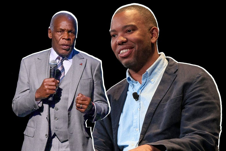 Danny Glover and Ta-Nehisi Coates.