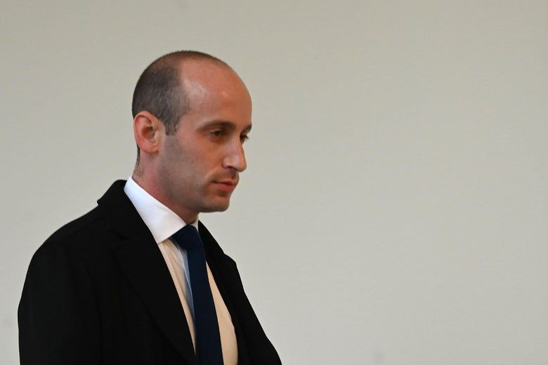 """Stephen Miller: Stopping Asylum Seekers Is """"All I Care About"""""""