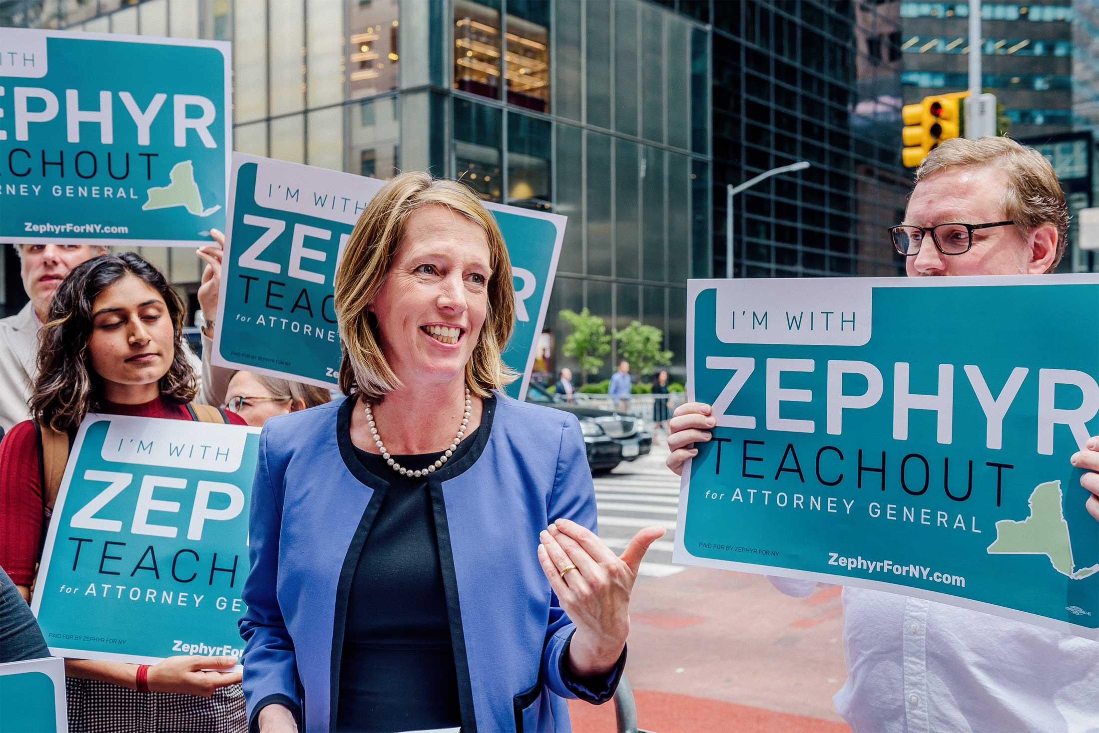 Zephyr Teachout.