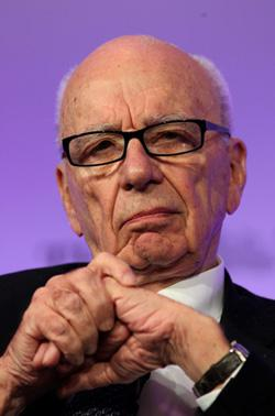 Rupert Murdoch. Click to expand image.