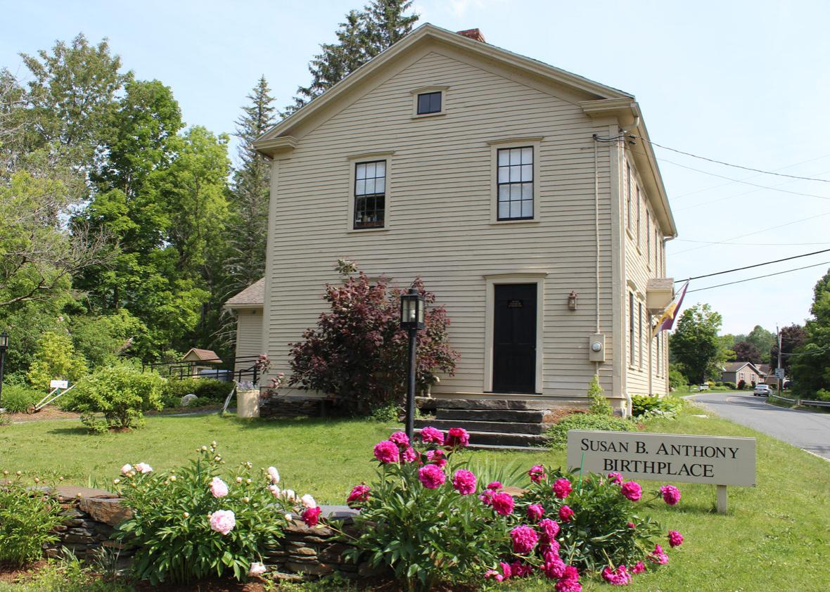 Susan B. Anthony house museum