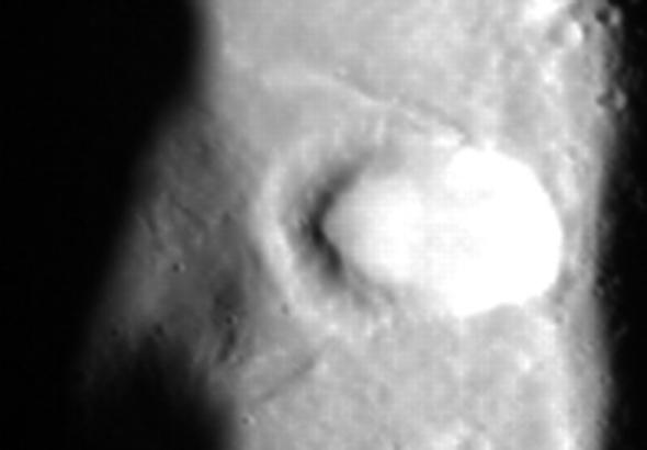 crater close up