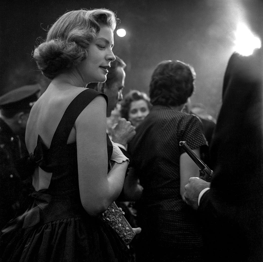 Lauren Bacall, 1955