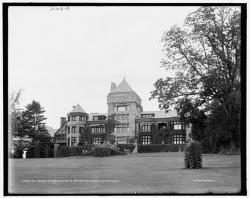 """The Mansion at Yaddo, home of Spencer Trask, Saratoga Springs, N.Y."""