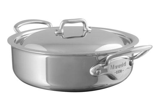 Mauviel 5.8 Quart Steel Rondeau.