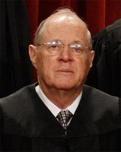 U.S. Supreme Court Associate Justice Anthony Kennedy. Click image to expand.
