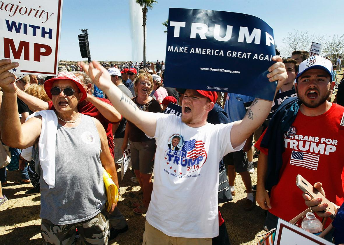 trump supporters.