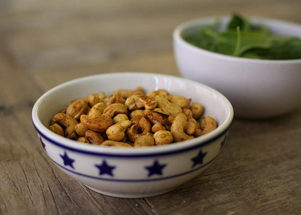 Roasted cashews recipe, and why you should soak nuts