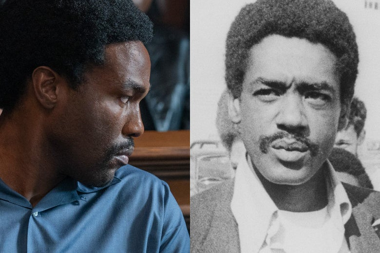 Yahya Abdul-Mateen II as Bobby Seale, and Bobby Seale.