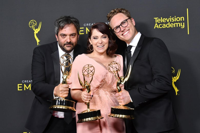 We Are So Happy and Not at All Bitter About Rachel Bloom's Emmys Win and Pregnancy Announcement