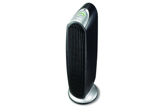 Honeywell QuietClean tower air purifier.